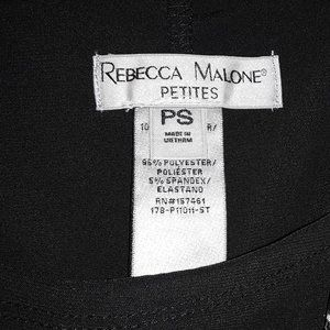 Rebecca Malone Tops - Rebecca Malone Black Print 1 Pc Tank Set